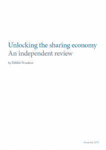 Unlocking the sharing economy: independent review